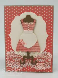 Stamping T! - Dress Up Card with Blossom Punch Apron
