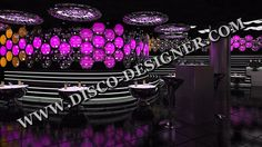 LED HEXA BUBBLE (MIRROR FINISH) 16 Million colors, DMX Sound to Light Unlimited DMX programming possibility