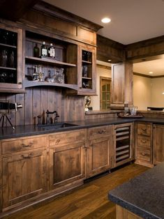 Family Room Rustic Exterior Design, Pictures, Remodel, Decor and Ideas - page 4