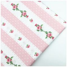 Impreso de Tela de Algodón Para Coser BRICOLAJE Needlwork Material Tilda textiles para el Hogar de La Cortina de Tela Patchwork Muñeca Tejido Conjunto Floral(China (Mainland))