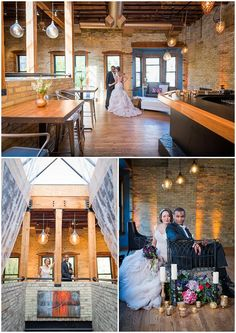 Onesto is located in Milwaukee's Third Ward is one of our picks for Milwaukee's top new wedding venues for 2015. Photos by Reminisce Studio / Planning by Evenement