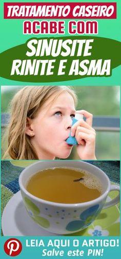 Problemas respiratórios, como asma, rinite e sinusite, são muito desagradáveis. Conheça o tratamento que vai acabar com esses problemas.  #dicas #truques #receitas #caseiro  #sinusite #rinite #asma #acabarsinusite #cha #remediocaseiro #tratarasma