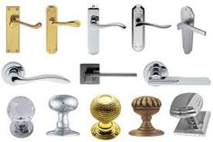 Door Knobs And Handles - If you think about it, the entire movement was begun by the doorknob towards security and safety i Front Door Handles, Black Door Handles, Knobs And Handles, Kitchen Cabinet Handles, Kitchen Cabinets, Door Furniture, Types Of Doors, Bedroom Doors, Door Knobs