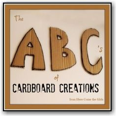Fab post from @1978rebecca what to make with cardboard :-)
