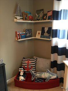 Nautical Nursery, Bookcase, Shelves, Room, Inspiration, Home Decor, Shelving, Bedroom, Biblical Inspiration
