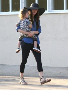 Megan Fox holding son Noah