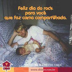 Kurt Cobain passando p desejar boa noite nesse #diadorock #rocknroll #maternidade #paiefilho #paiefilha #camacompartilhada #filhos #instafilho #momblogger #socialmediamom #francisbeancobain