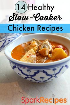 14 Healthy and Delicious Slow Cooker Chicken Recipes