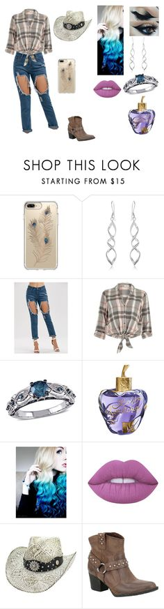 """""""Fashion Outfit #9"""" by dorothy-castle ❤ liked on Polyvore featuring Speck, River Island, Amour, Lolita Lempicka, Lime Crime and Børn"""