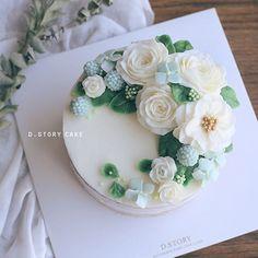시원한 여름이 떠오르는 케이크