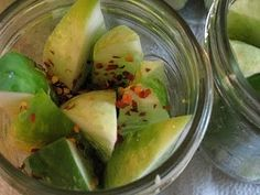 Quick refrigerator Dill Pickles.  They were so incredible to snack on during game night!