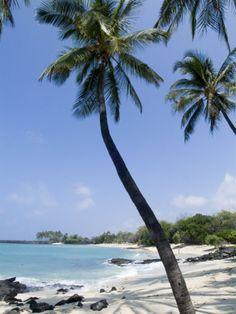 Kona State Beach, Island of Hawaii (Big Island), Hawaii. #kona #hawaii #beach