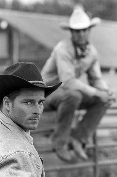 wild west = handsome cowboys