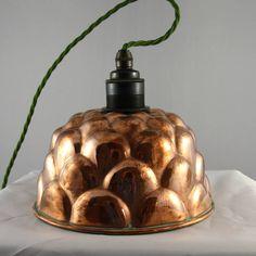 Copper Jelly Mould Light