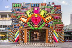 LOVE! Morag Myerscough and Luke Morgan, Temple of Agape, Southbank Centre, 2014