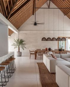 BALI INTERIORS is the only website dedicated to showcasing the Interiors, Architecture and Design based in Bali. Cafe Interior, Home Interior Design, Interior Architecture, Objet Deco Design, Bali House, Casa Cook, Beautiful Interiors, Interiores Design, Home And Living