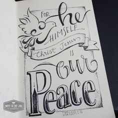 Sweet To The Soul Ministries - 30 Days of Bible Lettering July Scripture Lettering, Scripture Doodle, Bible Verse Art, Bible Words, Bibel Journal, Bible Doodling, Ephesians 2, God, Bible Studies