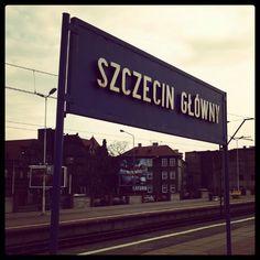 Szczecin Główny ve městě Szczecin, Województwo zachodniopomorskie