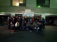 """Last night, 31 local executives, community leaders and celebrities slept outside in solidarity with the hundreds of young people who call Vancouver's streets home, to raise funds for Covenant House Vancouver's Crisis Shelter program.  With just a sleeping bag and a piece of cardboard, the """"sleepers"""" braved -3 degree weather as part of Covenant House's Sleep Out: Executive Edition."""