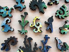Wooden Jigsaw Artifact Puzzles - APAK Islands Of Life  #jigsaw #art #gifts #puzzle #toys #adulttoys #woodenpuzzles #unique