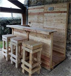 77 Easy and Smart Ways to Make Wood Pallet Furniture Ideas 20
