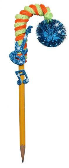 Rock Star Pencil Topper