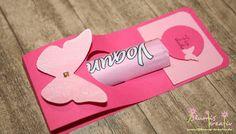 Yogurette-Verpackung ganz in pink mit Anleitung