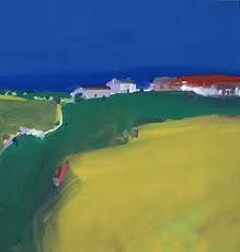 Fram at Trencom, 1999 (gouache) History Images, Art History, John Miller, Lucian Freud, St Ives, He's Beautiful, Gouache, Golf Courses, Beach