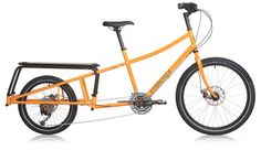 """Introducing Xtracycle's EdgeRunner, a """"long-tail"""" cargo bike that evolves the bike bag, baby seat, passenger seat, and bike rack all into one elegant and easy to ride sport-utility vehicle. Lowrider Bike, Bike Bag, Compact Suv, Cargo Bike, Men's Grooming, Electric Blue, Cycling, Classic, Vehicles"""