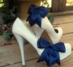 bows! Something blue on your wedding day
