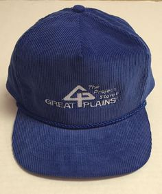 Vtg Great Plains Millwork Zipback Hat The Project Store St Paul Minnesota MN #Otto
