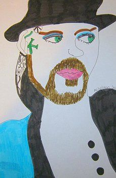 Boy George by Amanda Elizabeth Sullivan Cambridge United Kingdom, Framed Prints, Canvas Prints, Boy George, Manga Drawing, Christmas Sale, All Art, Art For Sale, Amanda