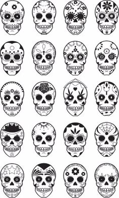 Coole Fuß Tattoo Vorlagen skull tattoos, I've been digging the idea of another skull tattoo lately. (a small one of course!)skull tattoos, I've been digging the idea of another skull tattoo lately. (a small one of course! Skull Candy Tattoo, Small Skull Tattoo, Sugar Skull Tattoos, Candy Skulls, Skull Tattoo Design, Sugar Skull Art, Tattoo Designs, Sugar Skulls, Sugar Skull Design