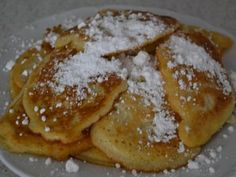 Rýchle lievance Czech Recipes, Russian Recipes, Sweet Desserts, Christmas Cookies, Baking Recipes, Breakfast Recipes, Pancakes, French Toast, Sweets