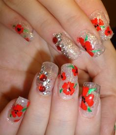 Day 315: Remembrance Day Nail Art - - NAILS Magazine