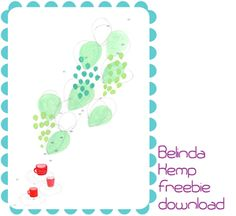 free art print for your home by Belinda Hemp