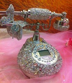 Blinged Out phone