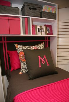 Bed Cubby. Made locally, perfect for maximizing space. www.dormcubby.com