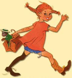pippi longstocking | Smile at least: Style inspiration of the moment: Pippi Longstocking