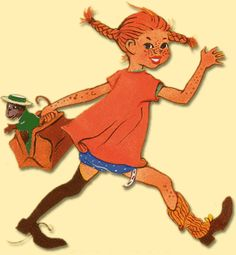 pippi longstocking | Smile at least: Style inspiration of the moment: Pippi Longstocking