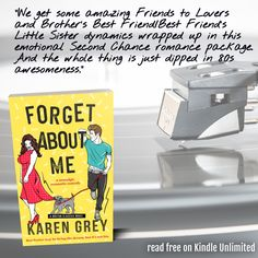 """""""Author Karen Grey has done it again. She's taken me on a trip to the 80s in the best way. The blast from the past vibe is fresh and nostalgic without being overdone. It's a perfect balance and it made me so happy while reading."""" Baby Maker, Shakespeare Theatre, Falling In Love Again, Separate Ways, Letting Go Of Him, Reading Challenge, Her Brother, Betrayal, Little Sisters"""