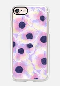 Anemones iPhone 7 Case by Olga Komasinska | Casetify