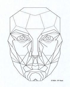 Davinci's facial proportions