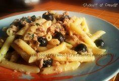 Pasta con tonno e olive nere   Ricetta semplice e gustosa
