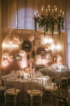 Vintage and Pastel Reception Decor Ideas | photography by http://www.samuellippke.com/studio/index.html