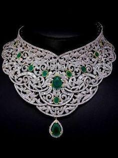 Emerald Choker? #Jewelry