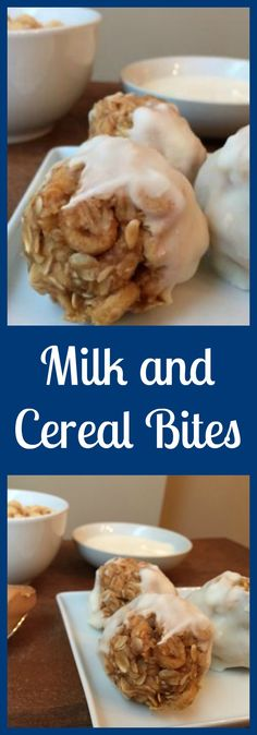 Paired with fruit and a glass of milk, 1-2 of these bites makes the perfect breakfast for kids. From @MomNutrition