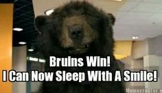Bruins win, they better