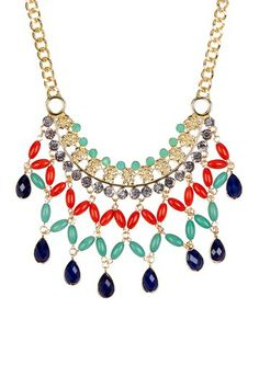 Nambe Statement Necklace by Olivia Welles on @HauteLook