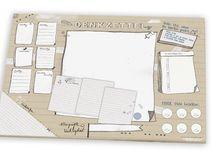 Schreibtischunterlage DENKZETTEL A3, Ökopapier